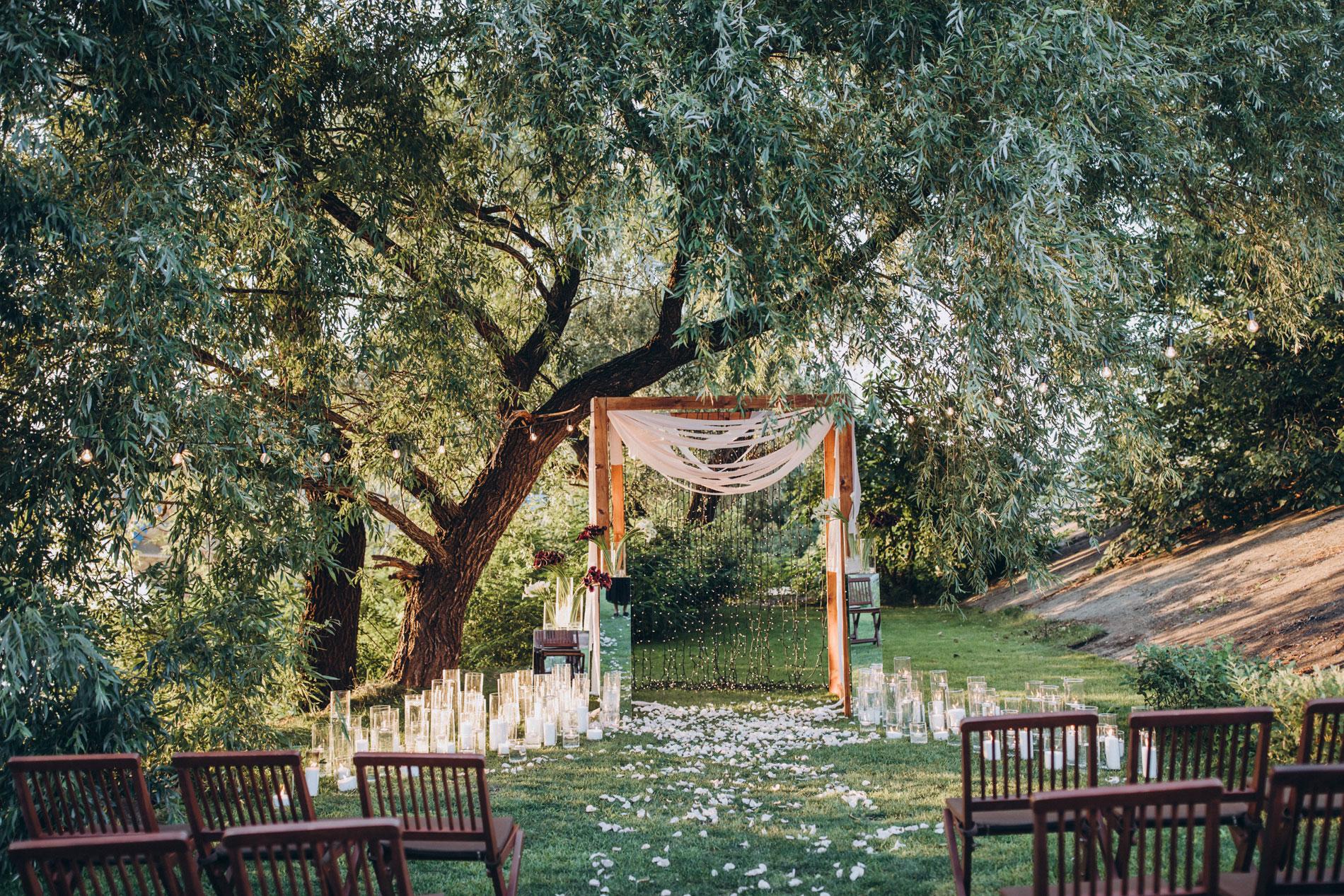 Restaurant for a wedding